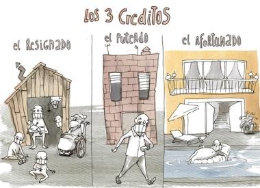 9_los tres creditos